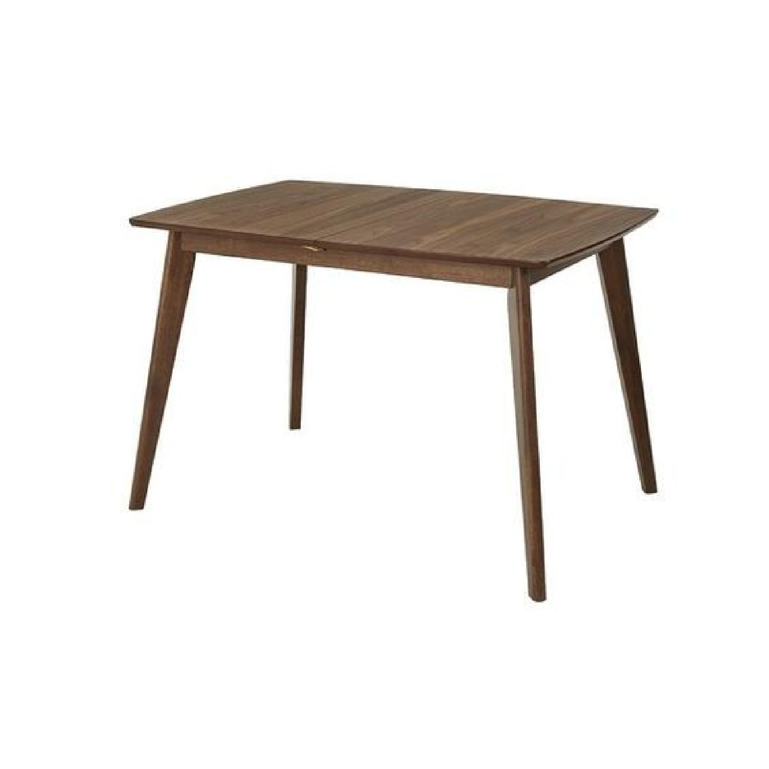 Bungalow Rose Rockaway Extendable Solid Wood Dining Table - image-0