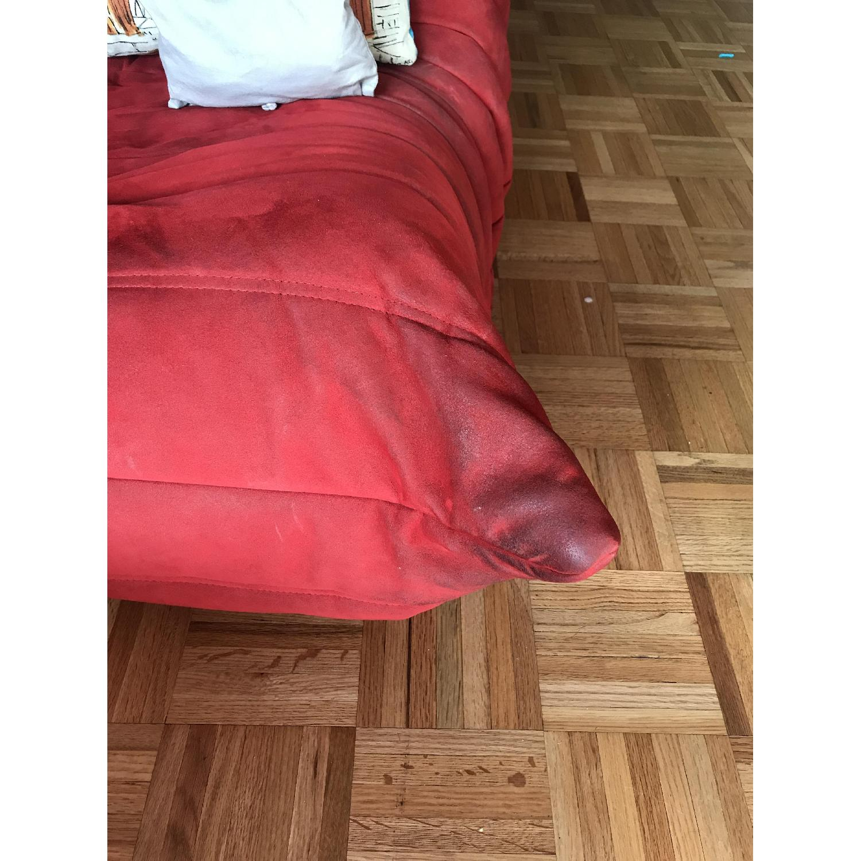 Ligne Roset Togo 3-Piece Red Sectional Sofa - image-5
