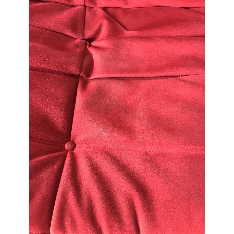 Ligne Roset Togo 3-Piece Red Sectional Sofa - image-6