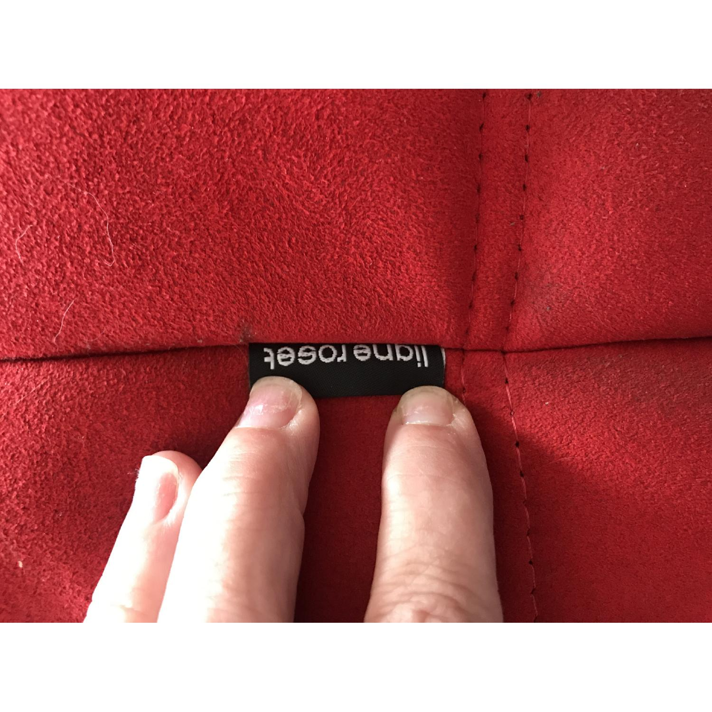 Ligne Roset Togo 3-Piece Red Sectional Sofa - image-7