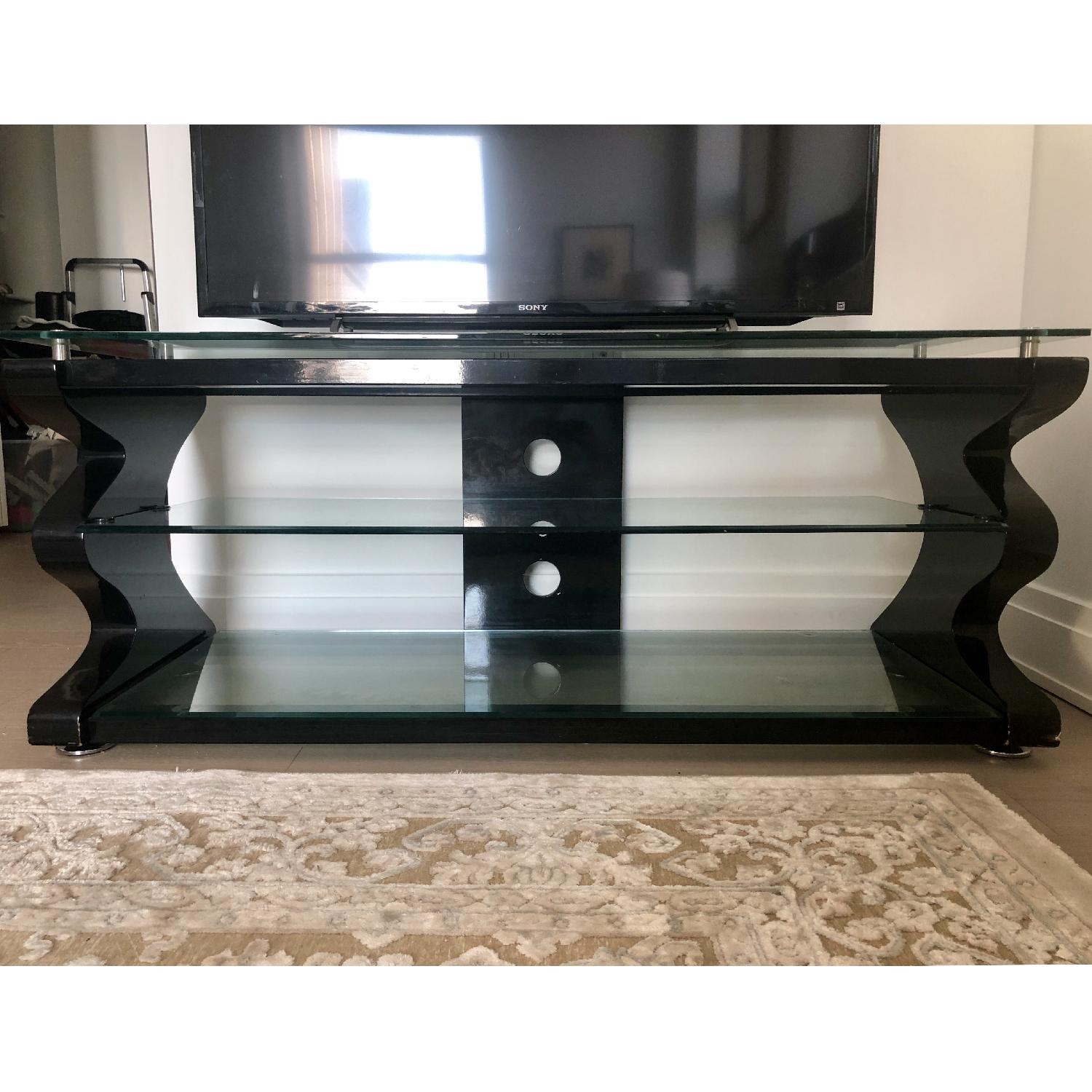 Gecko Steel & Tempered Glass TV Stand - image-2