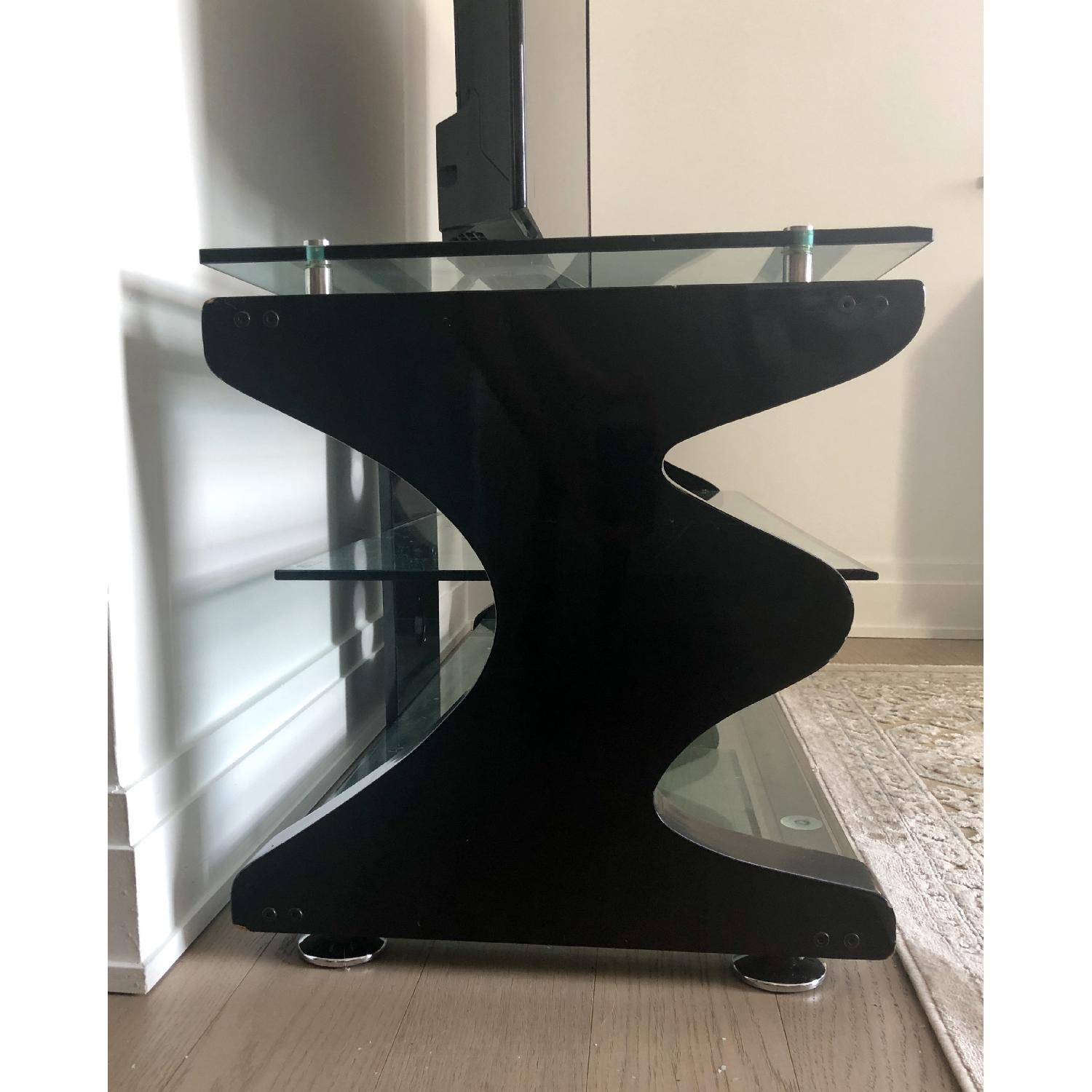 Gecko Steel & Tempered Glass TV Stand - image-4