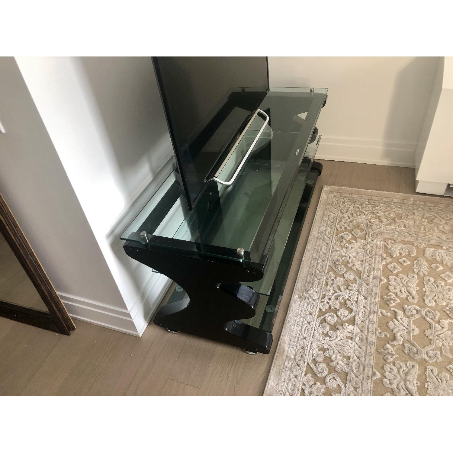 Gecko Steel & Tempered Glass TV Stand - image-5