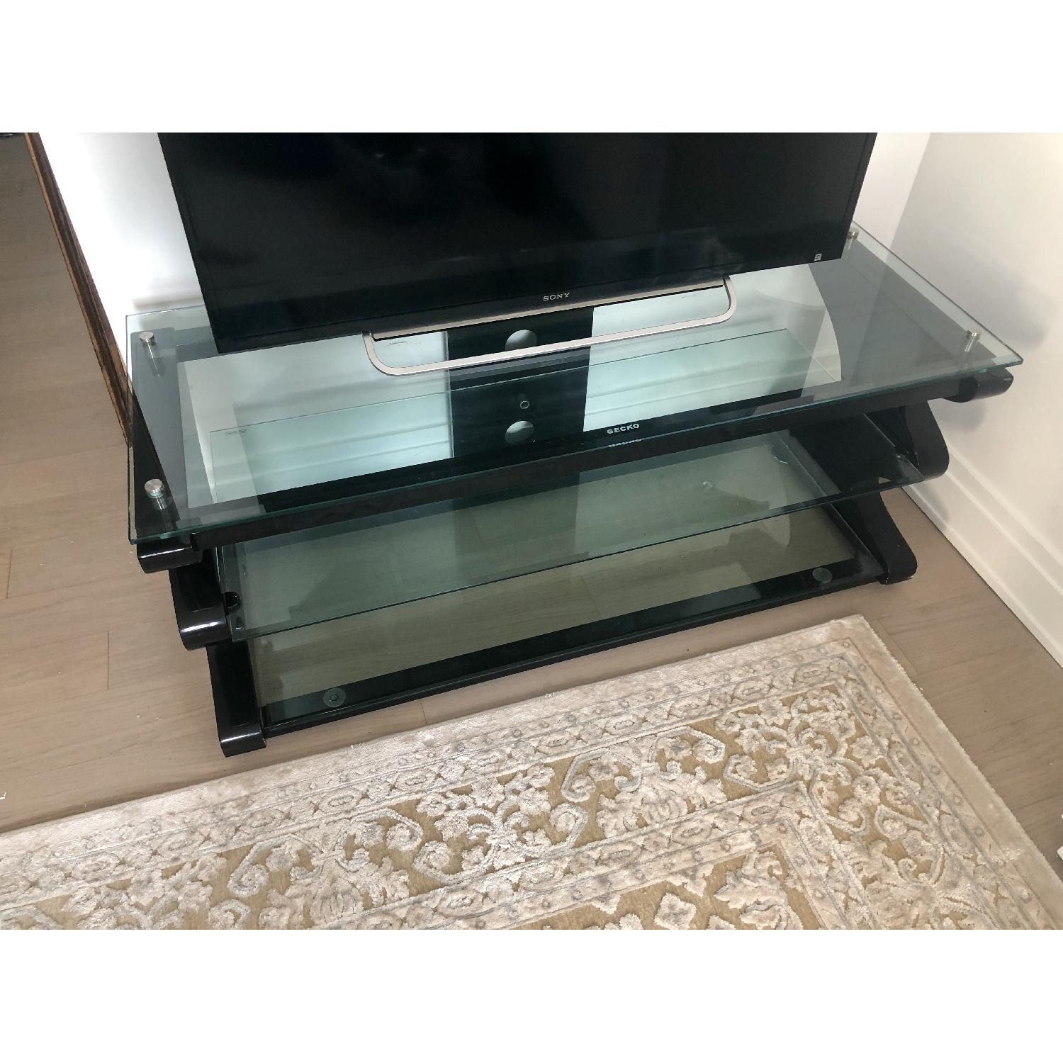 Gecko Steel & Tempered Glass TV Stand - image-7