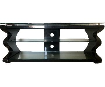 Gecko Steel & Tempered Glass TV Stand