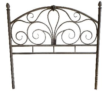 Contemporary Full-Size Metal Headboard