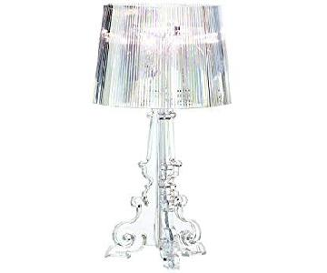 Kartell Bourgie Silver Metallic Table Lamp