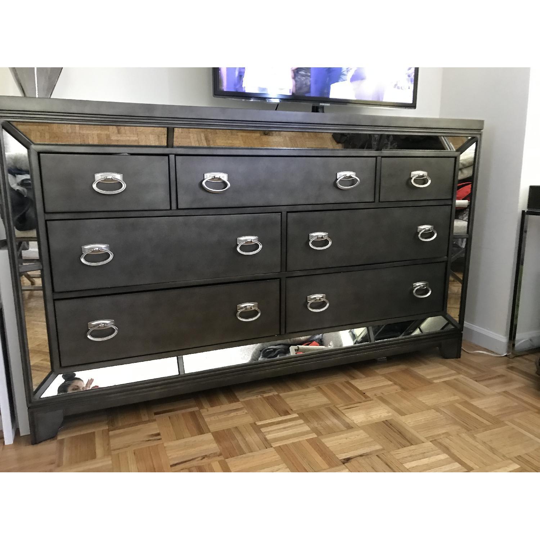 Avalon Furniture Lenox Platinum 7 Drawer Dresser - image-2