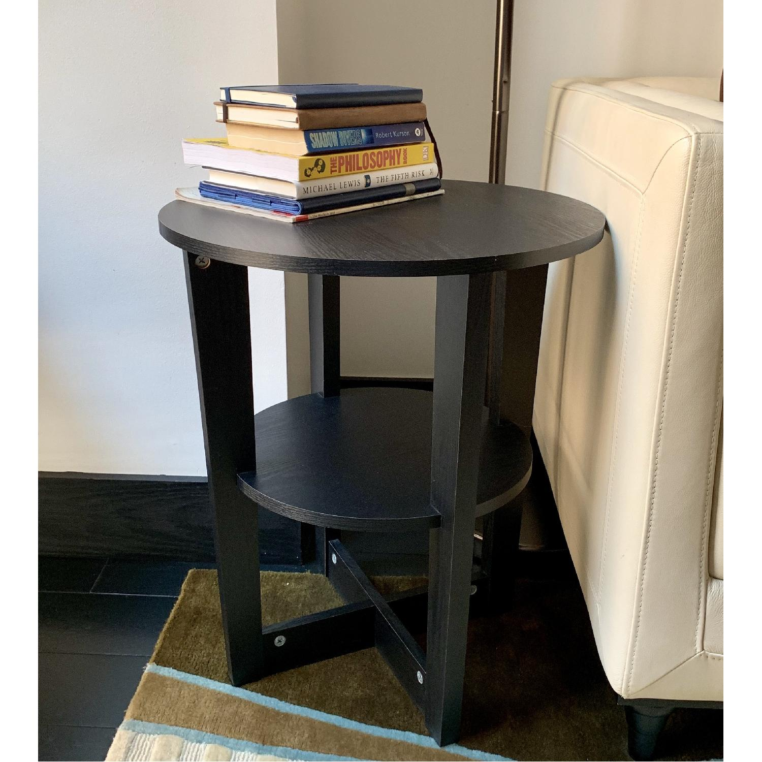 West Elm Round Side Table - image-1