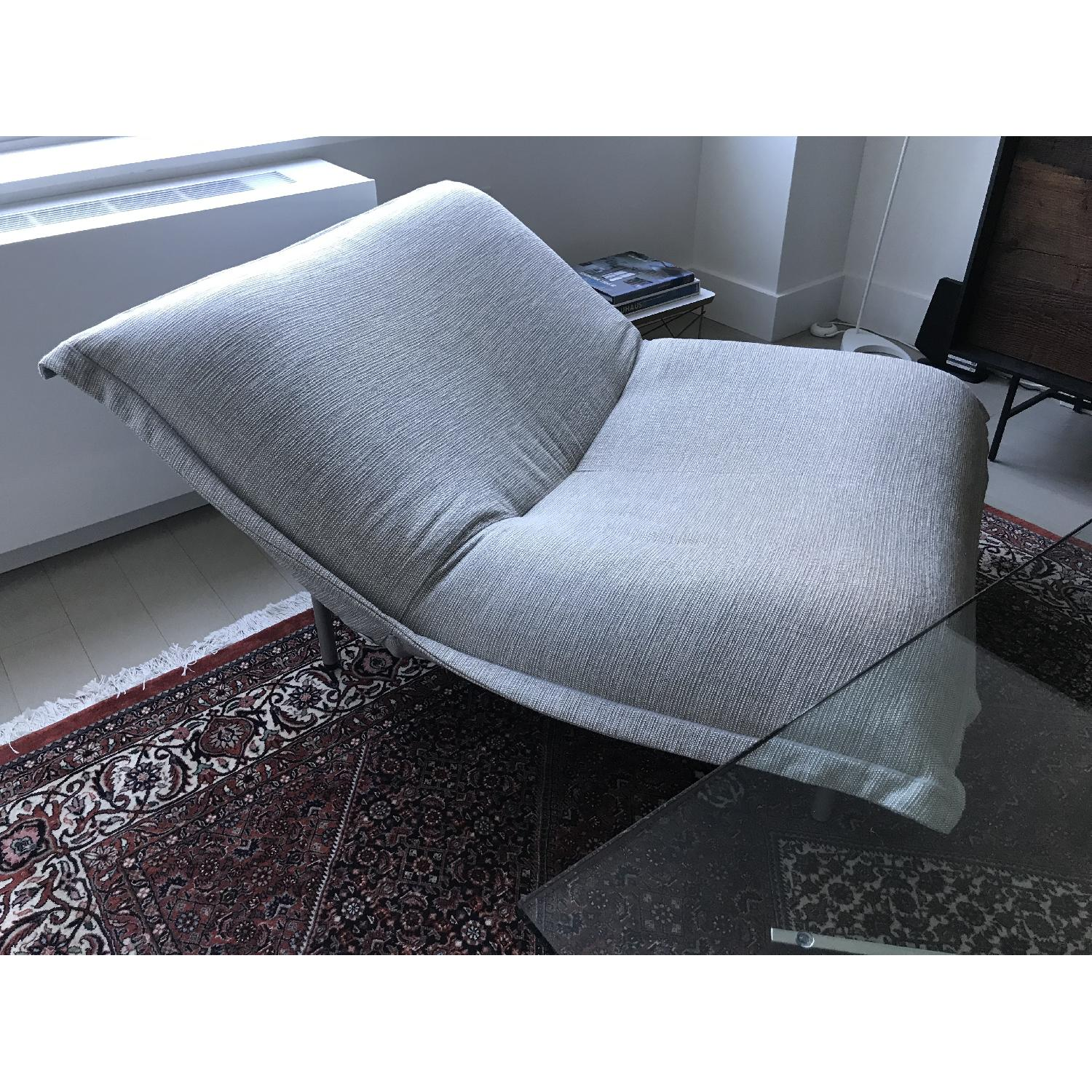 Ligne Roset Fabric Chair w/ Removable Cover - image-3