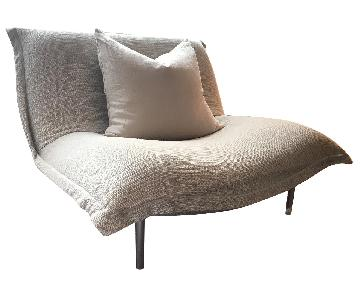 Ligne Roset Fabric Chair w/ Removable Cover