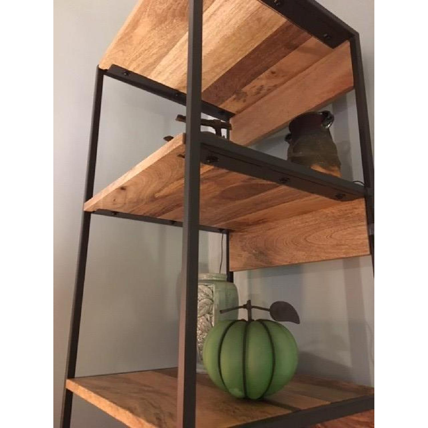 West Elm Industrial Corner Storage Unit - image-4