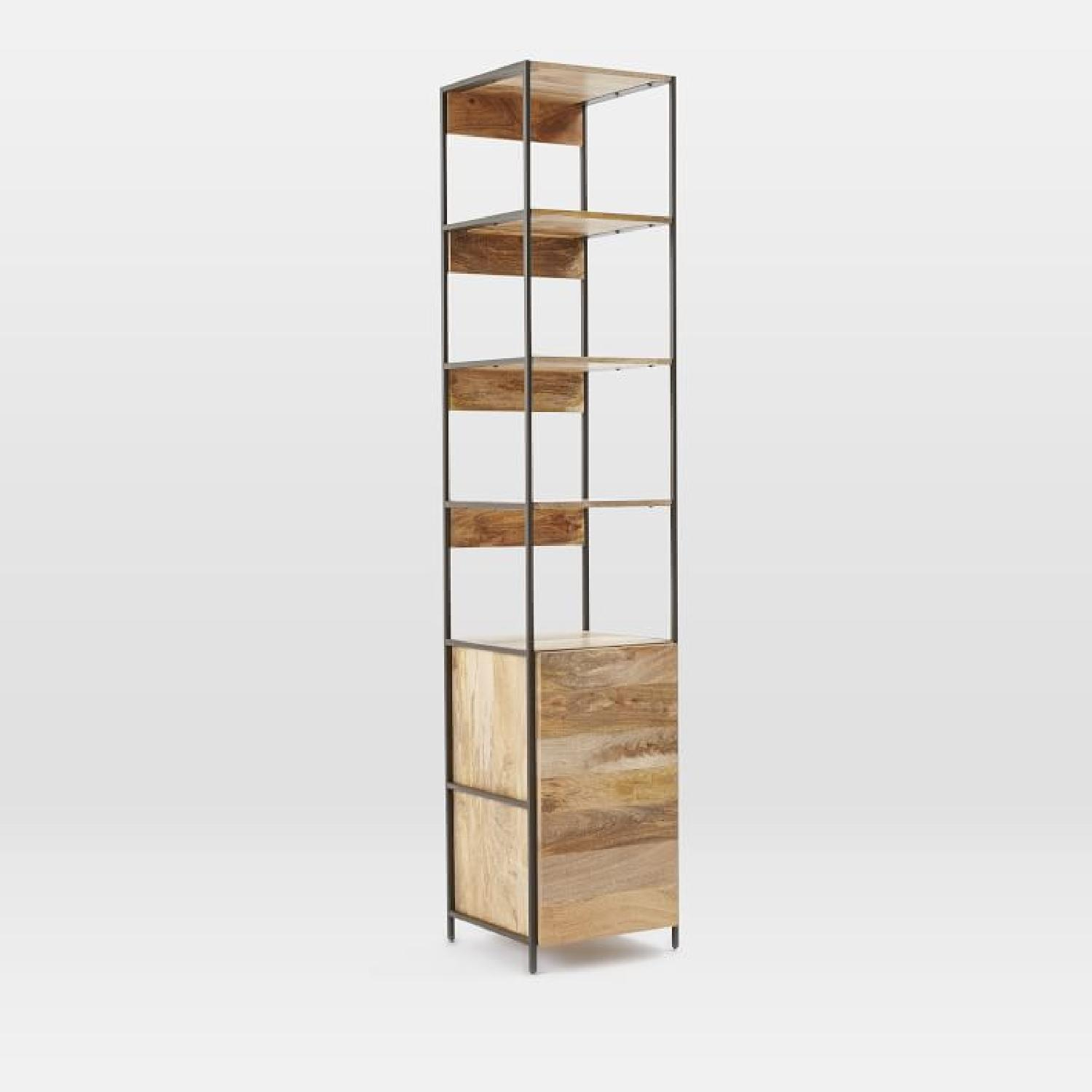 West Elm Industrial Corner Storage Unit - image-0
