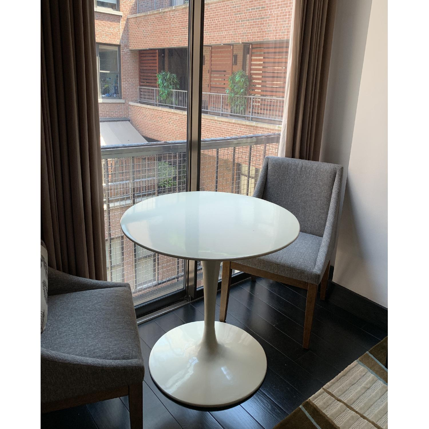 Pottery Barn Round Dining Table - image-1