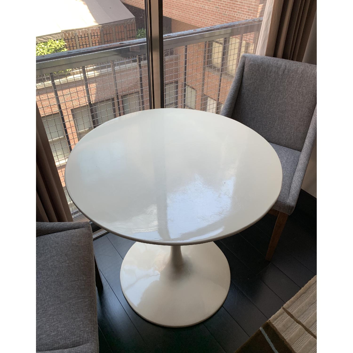 Pottery Barn Round Dining Table - image-2