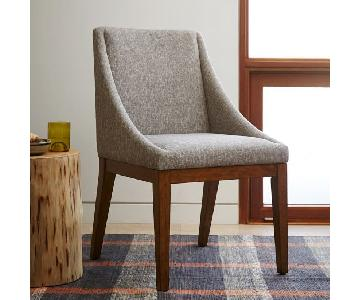West Elm Upholstered Dining Chairs