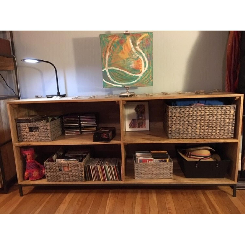 West Elm Industrial Modular Bookcase - image-1