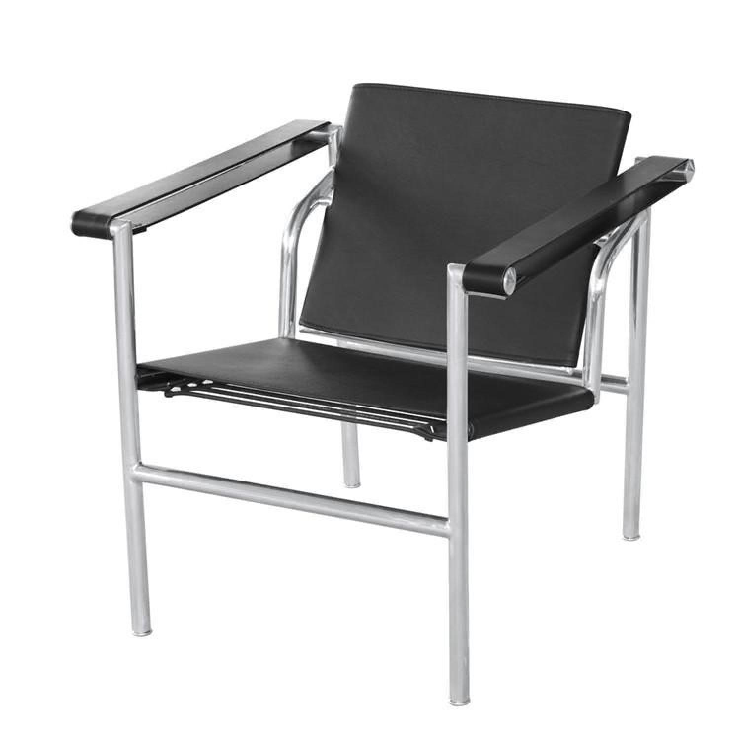 Reproduction of Le Corbusier LC! Basculant Sling Chair - image-0