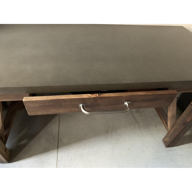 World Market Wood Farmhouse Desk - image-3