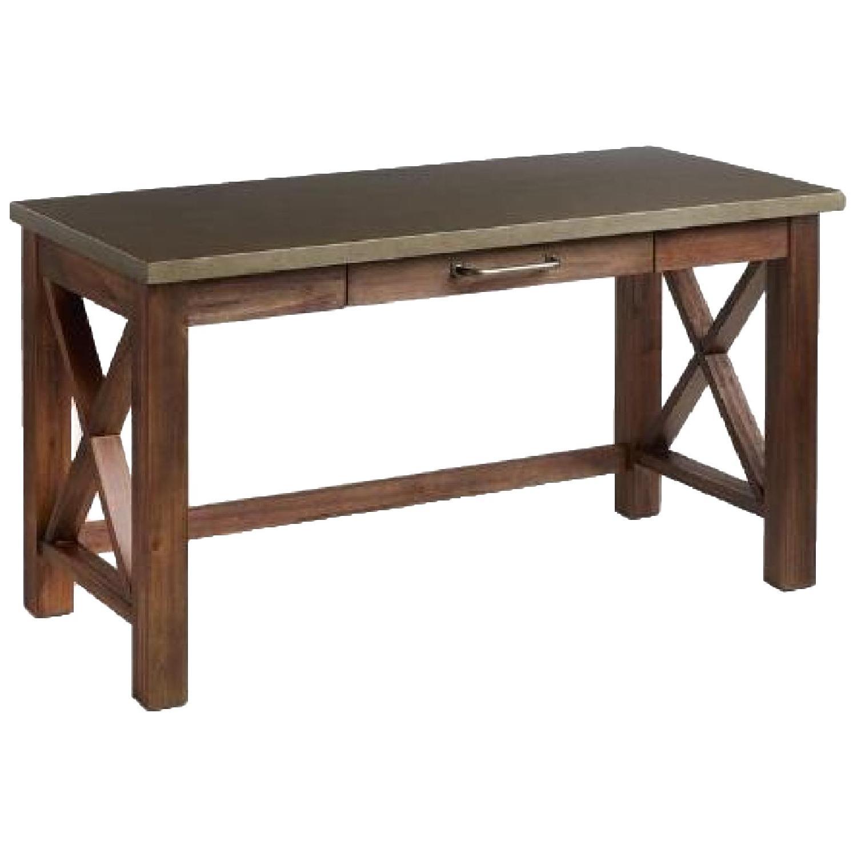 World Market Wood Farmhouse Desk - image-4