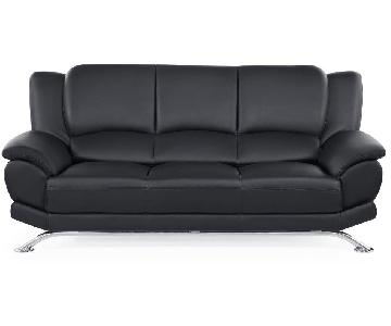 Raymour & Flanigan Bentley Leather Sofa