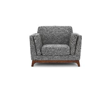 Article Ceni Armchair in Volcanic Gray