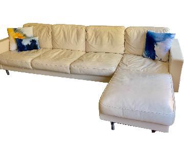 Poltrona Frau Armonia L-Shaped Sectional Sofa