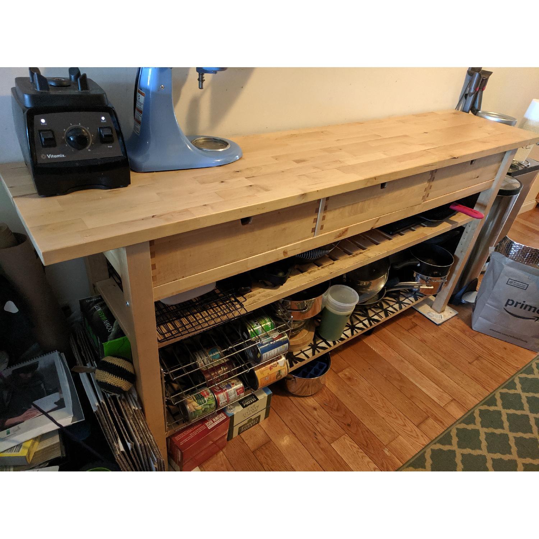 Ikea Norden Sideboard Occasional Table Aptdeco
