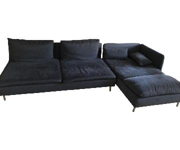 Ikea Soderhamn Dark Grey Sectional Sofa