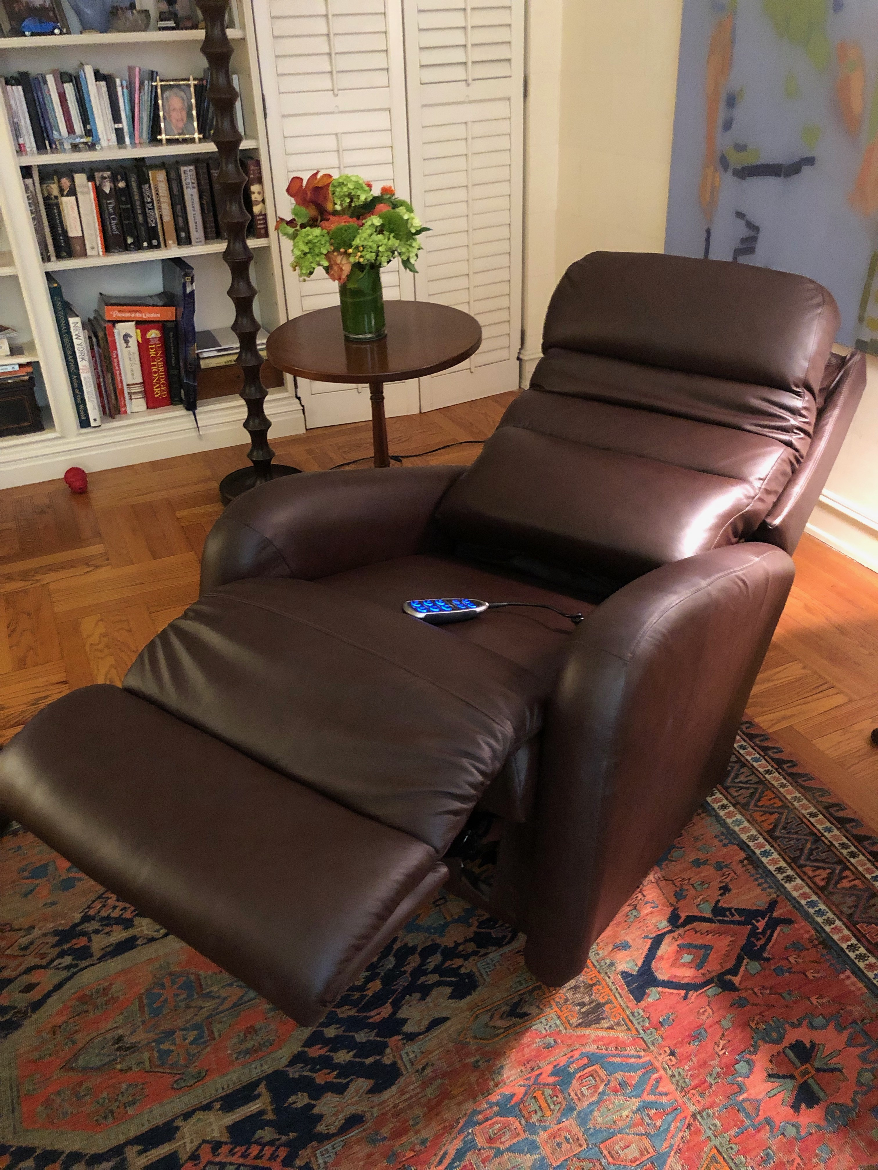 La-z-Boy Forum Leather Power Recliner