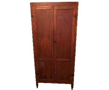 Antique Country 2-Door Wardrobe
