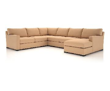 Crate & Barrel Axis II 4-Piece Sectional Sofa