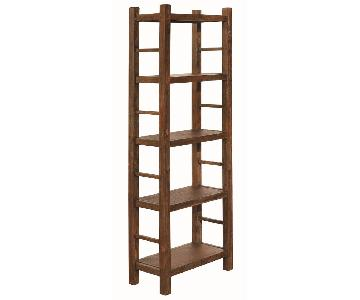 Bookcase in Country Brown Finish