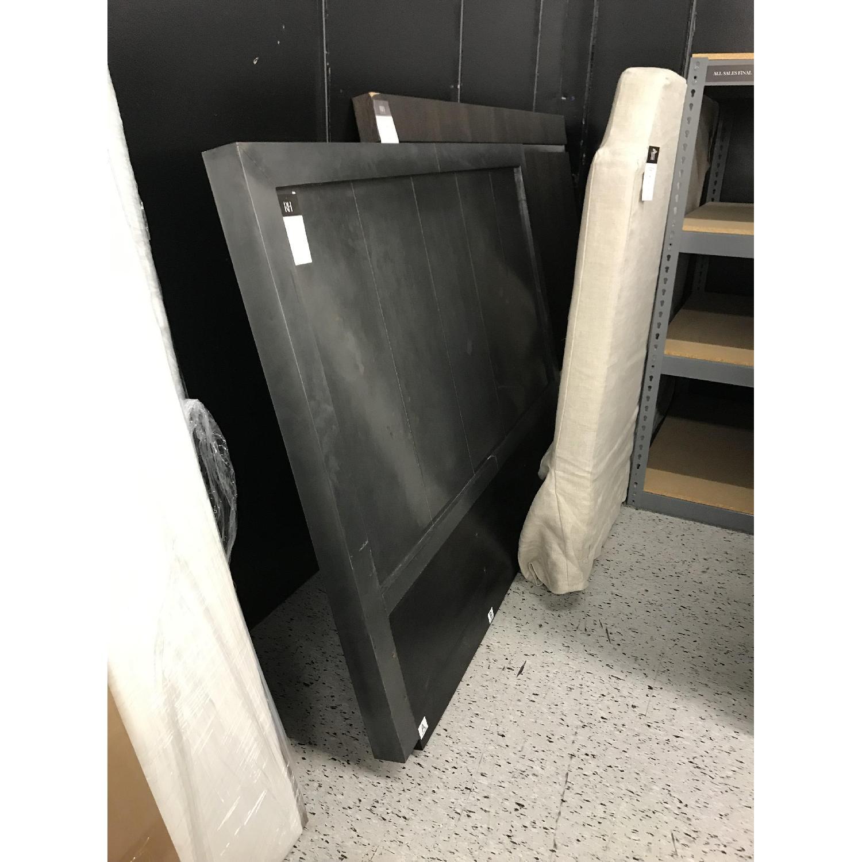 Restoration Hardware La Salle Metal Wood Headboard