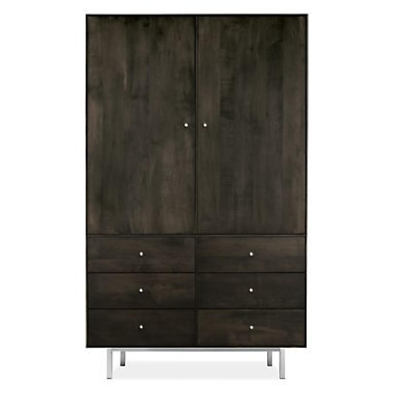 Room & Board Hudson Maple Armoire