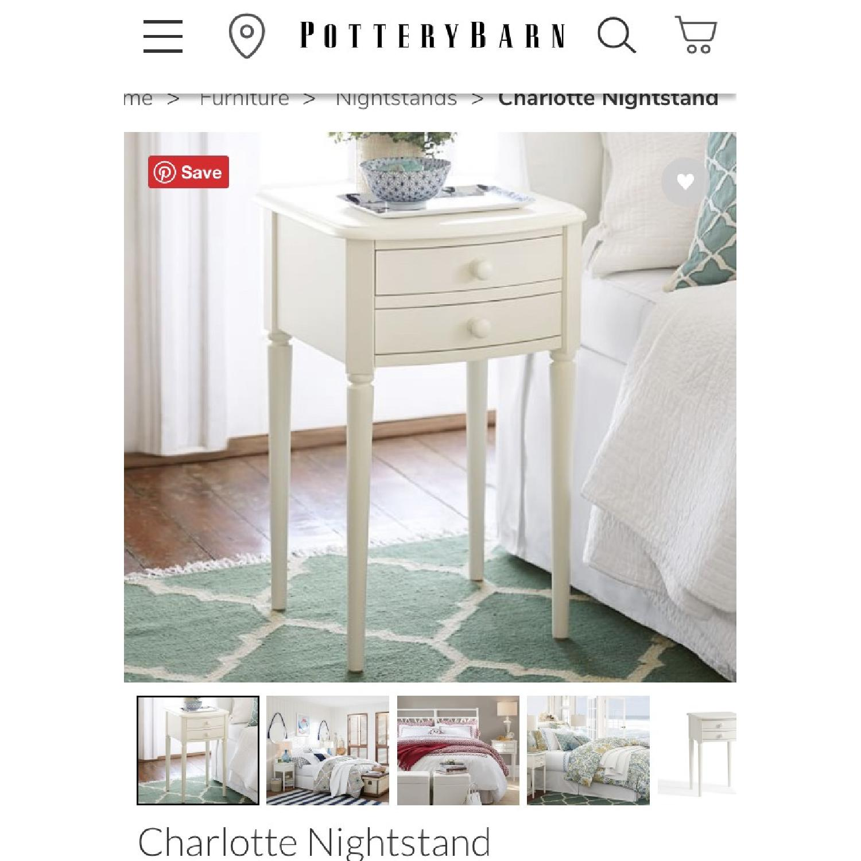 Pottery Barn Charlotte Nightstands