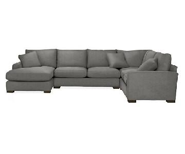 Room & Board Metro 3-Piece Sectional Sofa