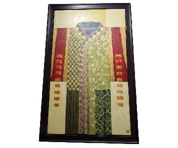 Kimono Oil Painting