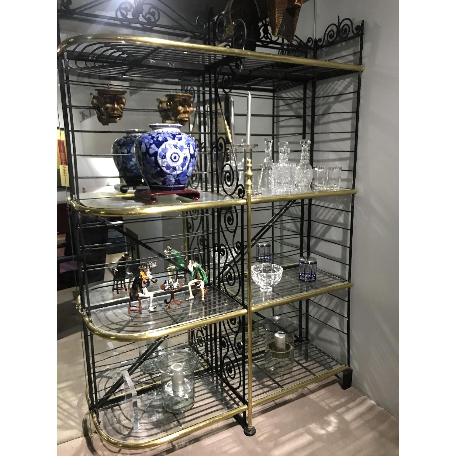 Early 20th Century French Baker's Rack