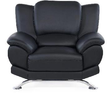 Raymour & Flanigan Bentley Leather Chair