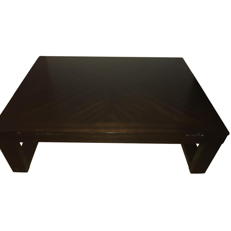 Bob's Wood Coffee Table