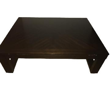 Bob's Wood Coffee Table