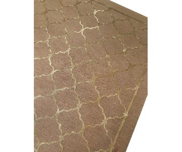 Williams Sonoma Silk & Wool Iron Gate Rug