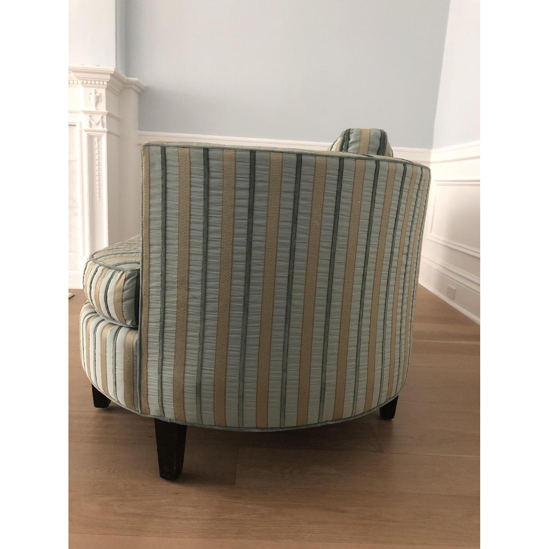 Fine Cisco Brothers Valentina Silk Striped Sofa Aptdeco Andrewgaddart Wooden Chair Designs For Living Room Andrewgaddartcom