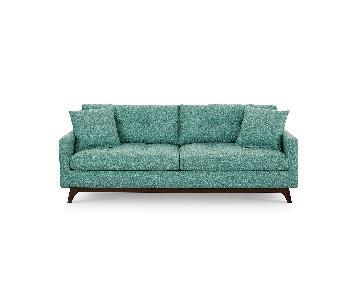 Macy's Nari Fabric Tufted Sofa
