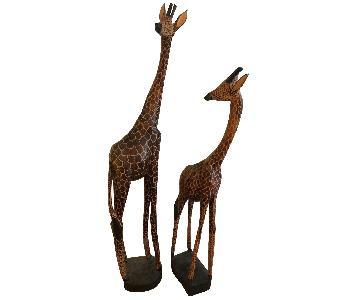 Giraffe Statues