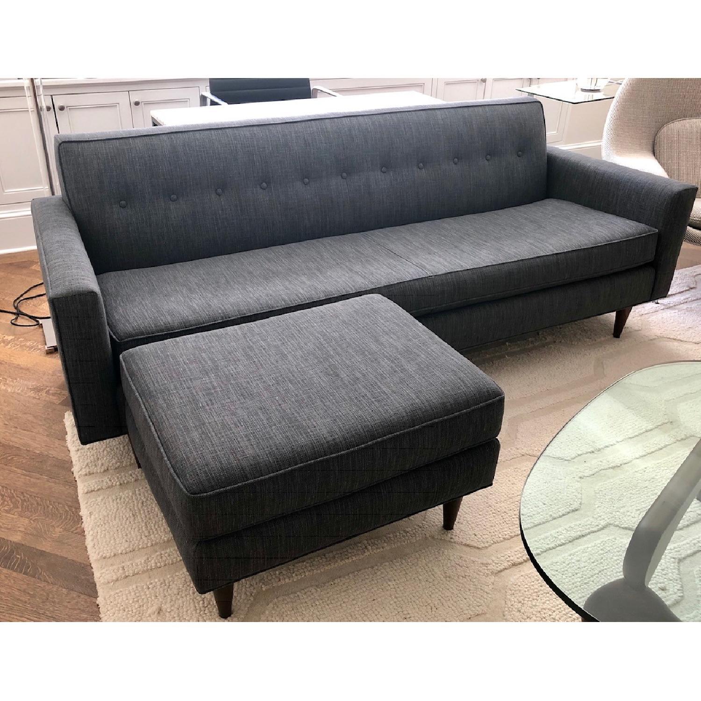Design Within Reach Bantam Sofa & Ottoman - image-1
