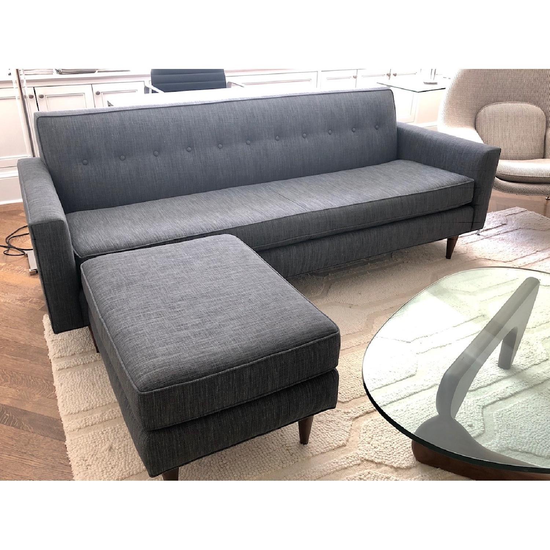 Design Within Reach Bantam Sofa & Ottoman - image-3