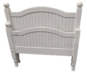 Twin Bed Frame w/ Trundle Bed