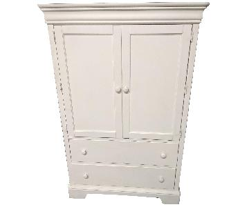 Stanley Girls White Armoire